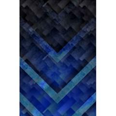 Blue Background Wallpaper Motif Design 5.5  x 8.5  Notebooks