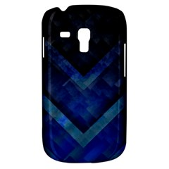 Blue Background Wallpaper Motif Design Galaxy S3 Mini