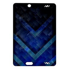 Blue Background Wallpaper Motif Design Amazon Kindle Fire Hd (2013) Hardshell Case