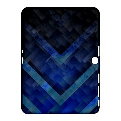 Blue Background Wallpaper Motif Design Samsung Galaxy Tab 4 (10 1 ) Hardshell Case