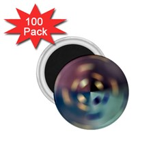 Blur Bokeh Colors Points Lights 1 75  Magnets (100 Pack)