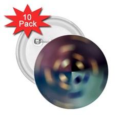 Blur Bokeh Colors Points Lights 2 25  Buttons (10 Pack)