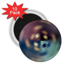 Blur Bokeh Colors Points Lights 2 25  Magnets (10 Pack)