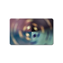 Blur Bokeh Colors Points Lights Magnet (name Card)
