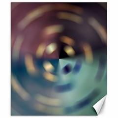 Blur Bokeh Colors Points Lights Canvas 20  X 24