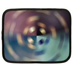 Blur Bokeh Colors Points Lights Netbook Case (large)