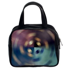 Blur Bokeh Colors Points Lights Classic Handbags (2 Sides)