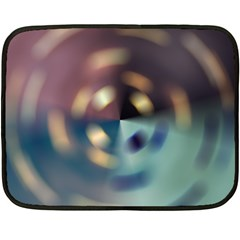 Blur Bokeh Colors Points Lights Fleece Blanket (mini)