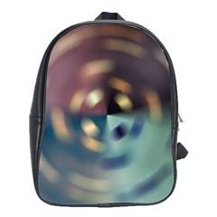 Blur Bokeh Colors Points Lights School Bags(large)