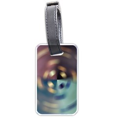 Blur Bokeh Colors Points Lights Luggage Tags (two Sides)