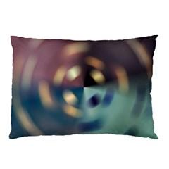 Blur Bokeh Colors Points Lights Pillow Case (two Sides)