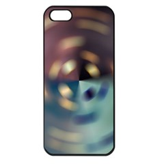 Blur Bokeh Colors Points Lights Apple Iphone 5 Seamless Case (black)