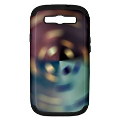 Blur Bokeh Colors Points Lights Samsung Galaxy S Iii Hardshell Case (pc+silicone)