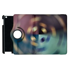 Blur Bokeh Colors Points Lights Apple Ipad 3/4 Flip 360 Case