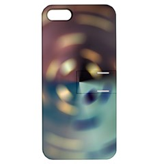 Blur Bokeh Colors Points Lights Apple Iphone 5 Hardshell Case With Stand