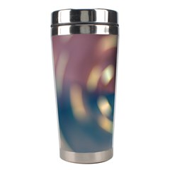 Blur Bokeh Colors Points Lights Stainless Steel Travel Tumblers