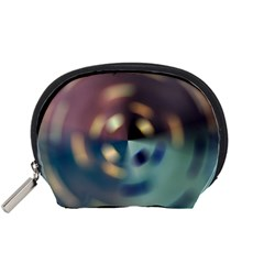 Blur Bokeh Colors Points Lights Accessory Pouches (small)