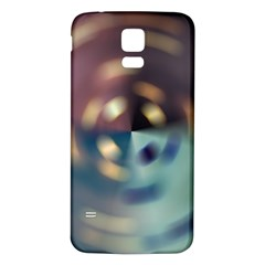 Blur Bokeh Colors Points Lights Samsung Galaxy S5 Back Case (white)