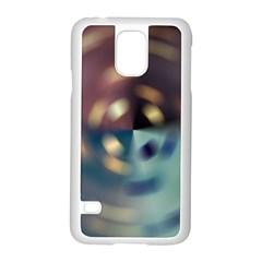 Blur Bokeh Colors Points Lights Samsung Galaxy S5 Case (white)