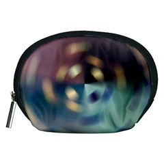 Blur Bokeh Colors Points Lights Accessory Pouches (medium)