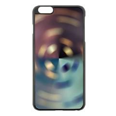 Blur Bokeh Colors Points Lights Apple Iphone 6 Plus/6s Plus Black Enamel Case