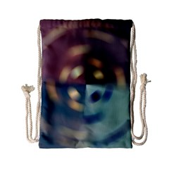 Blur Bokeh Colors Points Lights Drawstring Bag (small)