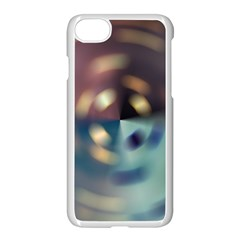 Blur Bokeh Colors Points Lights Apple Iphone 7 Seamless Case (white)