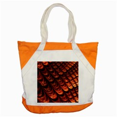 Brown Fractal Mathematics Frax Accent Tote Bag