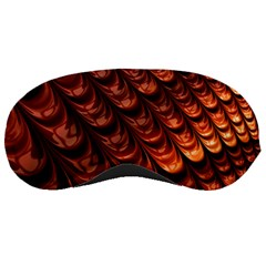 Brown Fractal Mathematics Frax Sleeping Masks
