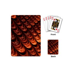 Brown Fractal Mathematics Frax Playing Cards (mini)