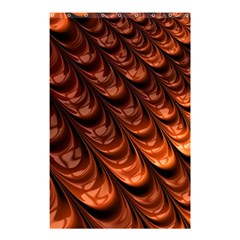 Brown Fractal Mathematics Frax Shower Curtain 48  X 72  (small)