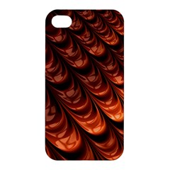 Brown Fractal Mathematics Frax Apple Iphone 4/4s Hardshell Case