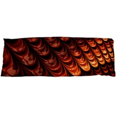 Brown Fractal Mathematics Frax Body Pillow Case Dakimakura (two Sides)