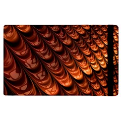 Brown Fractal Mathematics Frax Apple Ipad 2 Flip Case