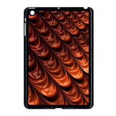 Brown Fractal Mathematics Frax Apple Ipad Mini Case (black)