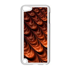 Brown Fractal Mathematics Frax Apple Ipod Touch 5 Case (white)