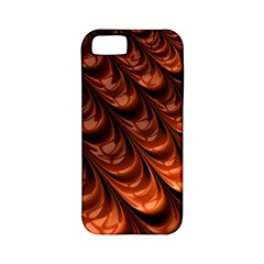 Brown Fractal Mathematics Frax Apple Iphone 5 Classic Hardshell Case (pc+silicone)