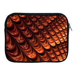 Brown Fractal Mathematics Frax Apple Ipad 2/3/4 Zipper Cases