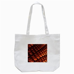 Brown Fractal Mathematics Frax Tote Bag (white)