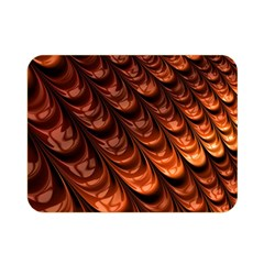 Brown Fractal Mathematics Frax Double Sided Flano Blanket (mini)