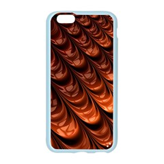 Brown Fractal Mathematics Frax Apple Seamless iPhone 6/6S Case (Color)