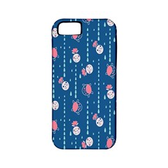 Pig Pork Blue Water Rain Pink King Princes Quin Apple Iphone 5 Classic Hardshell Case (pc+silicone)