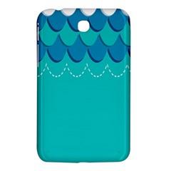 Sea Wave Blue Water Beach Samsung Galaxy Tab 3 (7 ) P3200 Hardshell Case