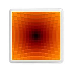 Orange Background Wallpaper Texture Lines Memory Card Reader (square)