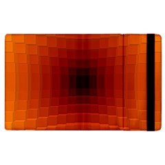 Orange Background Wallpaper Texture Lines Apple Ipad 2 Flip Case