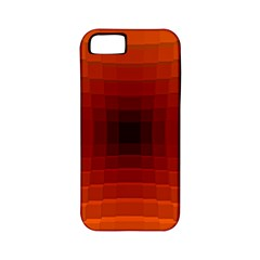 Orange Background Wallpaper Texture Lines Apple Iphone 5 Classic Hardshell Case (pc+silicone)