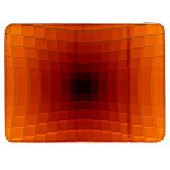 Orange Background Wallpaper Texture Lines Samsung Galaxy Tab 7  P1000 Flip Case