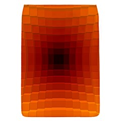 Orange Background Wallpaper Texture Lines Flap Covers (s)