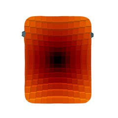 Orange Background Wallpaper Texture Lines Apple Ipad 2/3/4 Protective Soft Cases