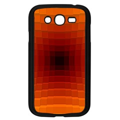 Orange Background Wallpaper Texture Lines Samsung Galaxy Grand Duos I9082 Case (black)